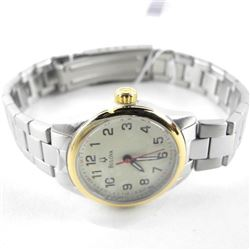 Ladies BULOVA Watch Two Tone Stainless May Need Ba