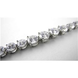 925 Silver Bracelet Graduating Swarovski Elements