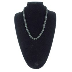 """Lava Stone Necklace 22"""""""