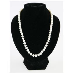 "MYOTO Hand Knotted Pearl Strand 16"" Choker Length"