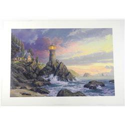 Thomas Kinkade (1958-2012) Fine Art Print 'Rock of