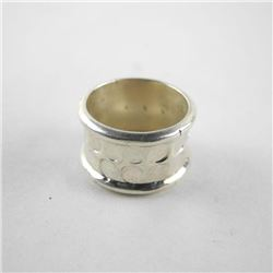 925 Silver Band Ring, Size 8