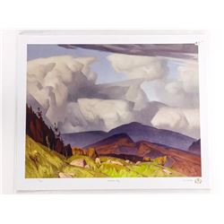 A.J. Casson (1898-1992) Litho 'Madawaska Valley' L