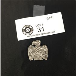 First Nations Pewter Eagle Pendant