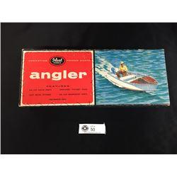 """1950's Ideal Model Boat Kit."""" Angler"""" Partly put Together"""
