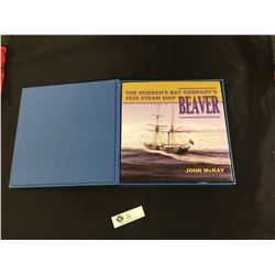 """The Hudson's Bay Company's 1835 Steamship """" Beaver"""" Box Set. Includes Book and Blueprints"""