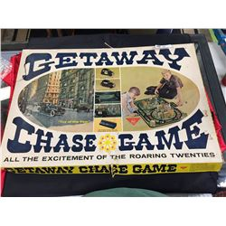 Getaway Chase Game 1960's All The Excitement of the Roaring 20's Complete with Both Cars and Instruc