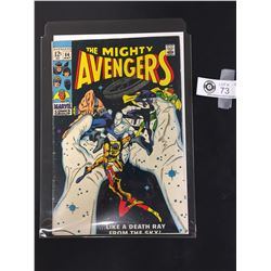 Marvel The Mighty Avengers #64 May 1969  in Bag on a White Board