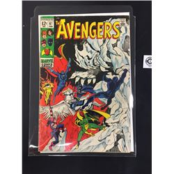 Marvel The Mighty Avengers #61 February 1969  in Bag on a White Board