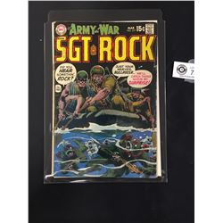 DC Our Army at War #217 Mar 1970 Sgt Rock in Bag on a White Board
