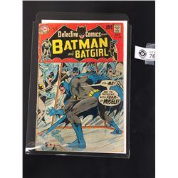 Detective Comics Batman and Batgirl #389 July 1969 in Bag on a White Board