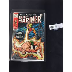Prince Namar, The Sub-Mariner #17 September 1969 In Bag on a White Board