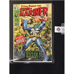 Prince Namar, The Sub-Mariner #23 March 1970. First Appearance of Orka. In Bag on a White Board