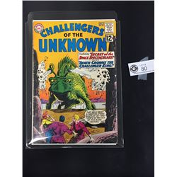 Challengers of the Unknown. #26 July 1962 In a Bag, On a White Board