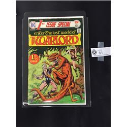 DC 1st Issue Special #8 The Warlord November 1975. In a Bag on a White Board