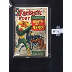 Fantastic Four #32 November 1964 1st Morrat and Mary Appearance.In a Bag on a White Board