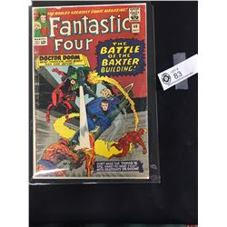 Fantastic Four #40 July 1961 Dr. Doom. Stan Lee and Jack Kirby n a Bag on a White Board
