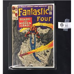 Fantastic Four #47 Febuary 1966 The 3rd Appearance of the Inhumans .In a Bag on a White Board