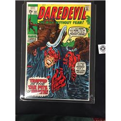 Marvel  Daredevi #66 The Man Without Fear July 1969 In a Bag on a White Board