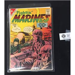 Fightin' Marines Vol.4 # 50 December 1962. 4 Condemed Men On a White Board, in a Bag