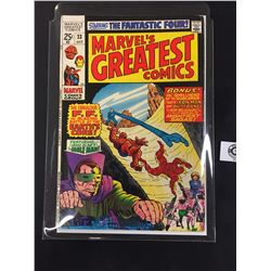 Marvel's Greatest Comics #23 October 1969 Starring the Fantastic Four. On a White Board In a Bag