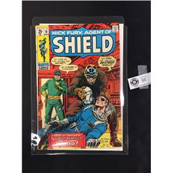 Nick Fury Agent of Sheild #18 March 1971. On a White Board in a Bag
