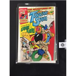 Toucan Sam. Kelloggs Froot Loops Comics. 1994 Harder One to Find. On a Whte Board in a Bag