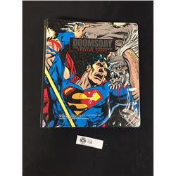 Doomsday The Death of Superman Trading Cards in Offical Binder Over 100 Cards