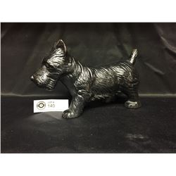 "Vintage Cast Iron Scotty Dog Door Stop. Measures 9"" w x 3"" Thick x 6""H . Heavy,"