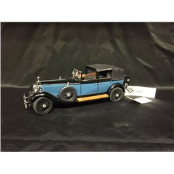 Precision Model From The Franklin Mint. The 1929 Rolls Royce Phantom 1. 1:24 Scale