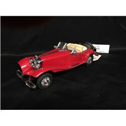 Precision Model From The Franklin Mint. The Mercedes 500K Sal Roadster 1:24 Scale