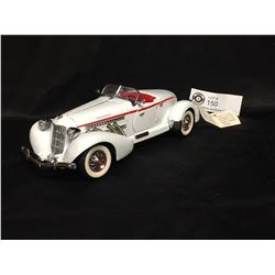 Precision Model From The Franklin Mint 1935 Auburn 351 Speedster 1:24 Scale