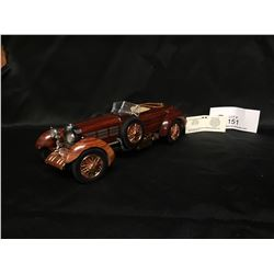 Precision Model From The Franklin Mint 1924 Hispano-Suiza Tulipwood 1:24 Scale