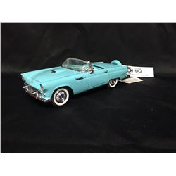 Precision Model From The Franklin Mint 1956 Ford Thunderbird 1:24 Scale