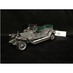 Precision Model From The Franklin Mint 1907 Rolls Royce The Silver Ghost  1:24 Scale