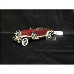 Precision Model From The Franklin Mint 1930 Duesenberg J.Derham Tourster. Windshield Needs Glue 1:24