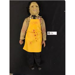 """Texas Chainsaw Masacre Limited Edition Leatherface 18"""" Doll with Chainsaw Sound When you Push His Ch"""