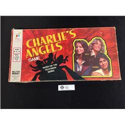 Vintage Charlie's Angels TV Series Board Game Milton Bradley. 1977