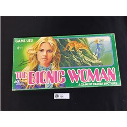 Vintage 1976 Parker Brothers The Bionic Woman Board Game. Jaime Sommers