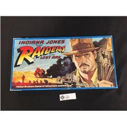 Vintage Indiana Jones Raiders of the Lost Ark Board Game 1981 Parker Bros.