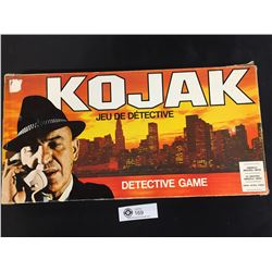 1975 Vintage Kojak Detective Board Game.