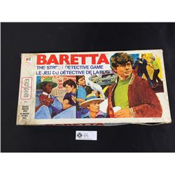 Vintage 1977 Baretta The Street Detective Game by Milton Bradley Toys