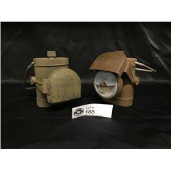 2 Canadian/British WWII Soldier's Lanterns