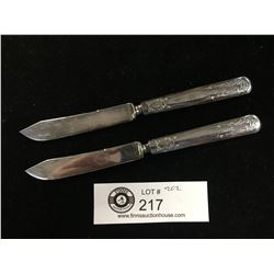 Pair of Eagle Brand US Fruit Knives