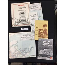 A Lot of CP Rail Memorabilia Including Freight Maps