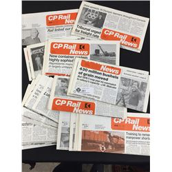 30 PC +CP Rail News 1970's