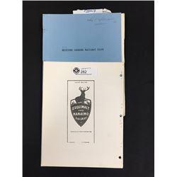 Railway Club Memorabilia. The BC Railway Historical Association 1970