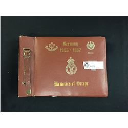 Canadian Infantry Brigade Germany 1955-57 Photo Album with Some Photos