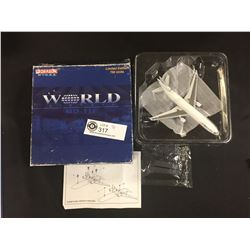 New in the Box, Never Set Up. World Airways MD-11F Die Cast Plane. Limited Edition Only 750 Made