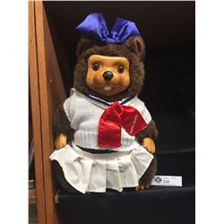 "1998 Collectible Robert Raikes Bear Doll ( Lucy) 18"" H"